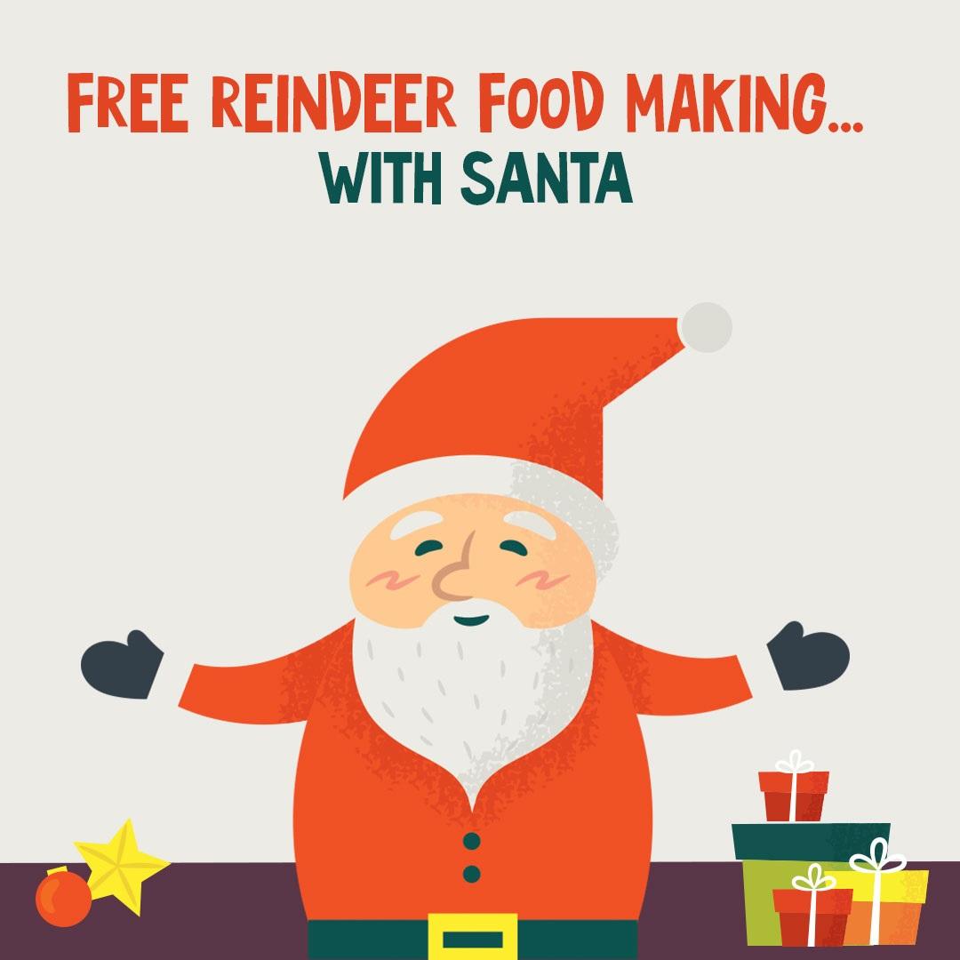 Free reindeer food making