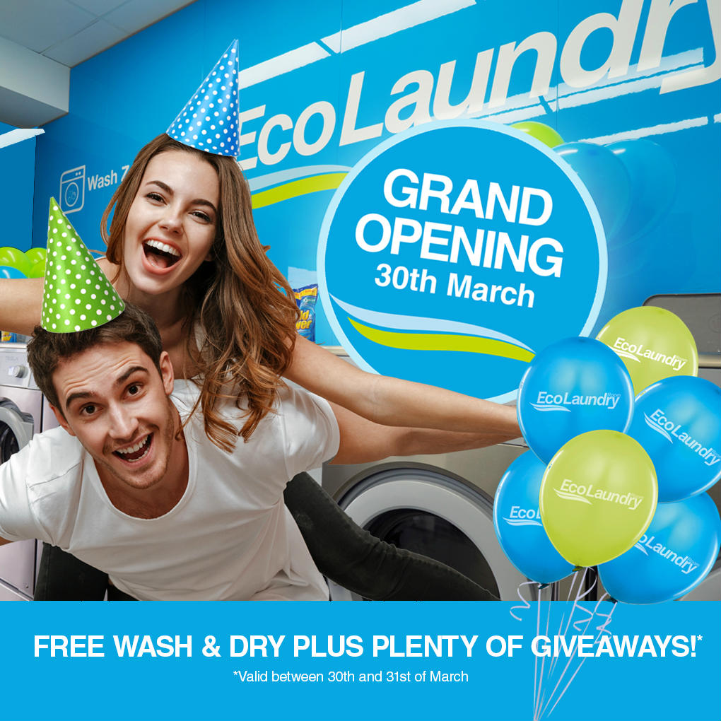 Eco Laundry Room Opening Day