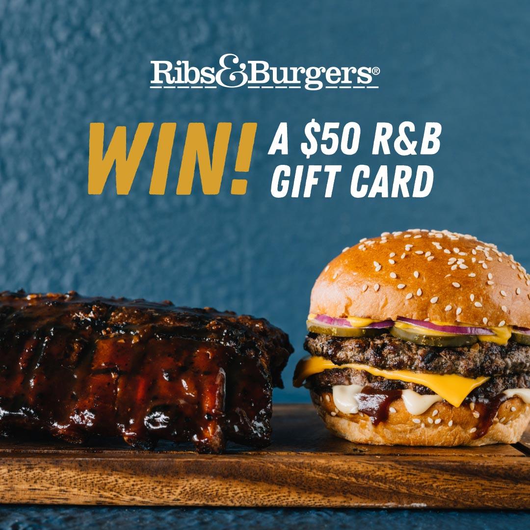 Ribs & Burgers giveaway