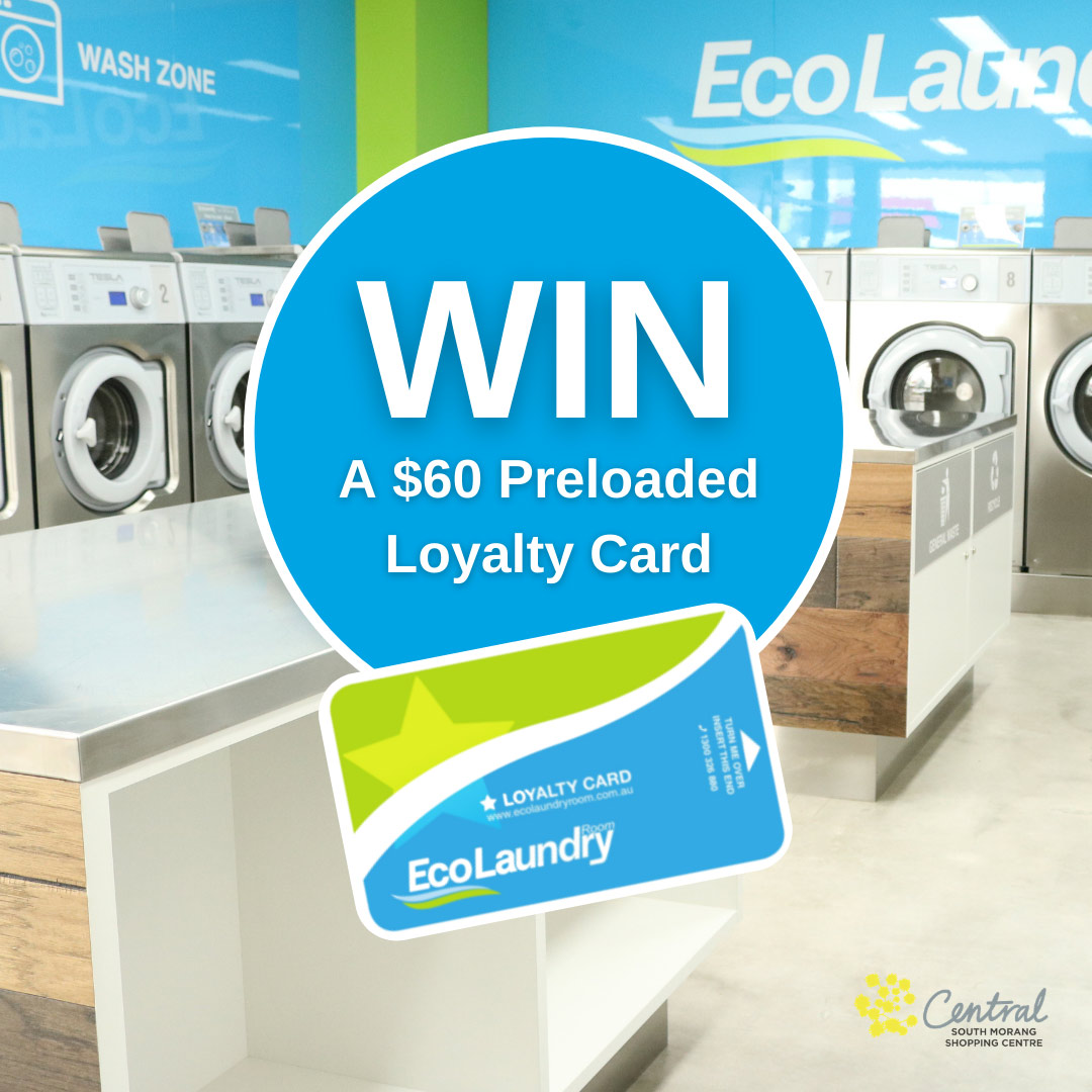 Eco Laundry Room Loyalty Card