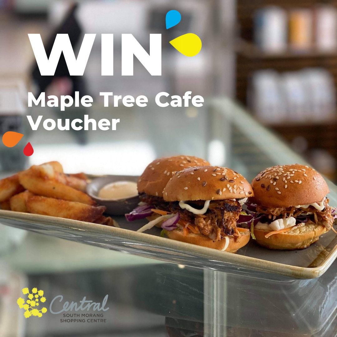 Maple Tree Cafe South Morang giveaway